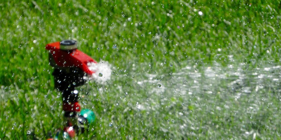 How To Water A Sloping Lawn