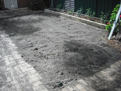 Remove Excess Lawn Soil